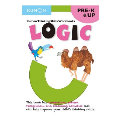 Kumon Thinking Skills Workbooks: Logic, Grades Pre-K & Up