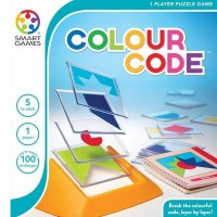 SmartGames Colour Code - Single player puzzle games
