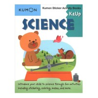 Kumon Sticker Activity Books: Science, Grades K & Up